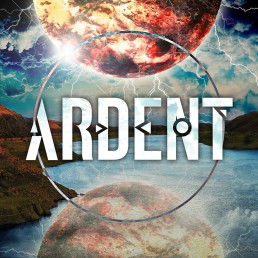 Album cover design for metal band Ardent