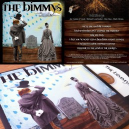 EP artwork for indie rock band the bimmys