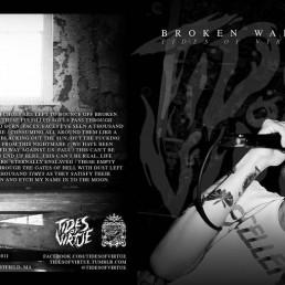 Single artwork for Tides of Virtue - Broken Walls
