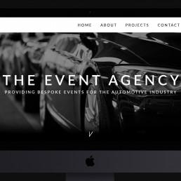 automotive website design the event agency